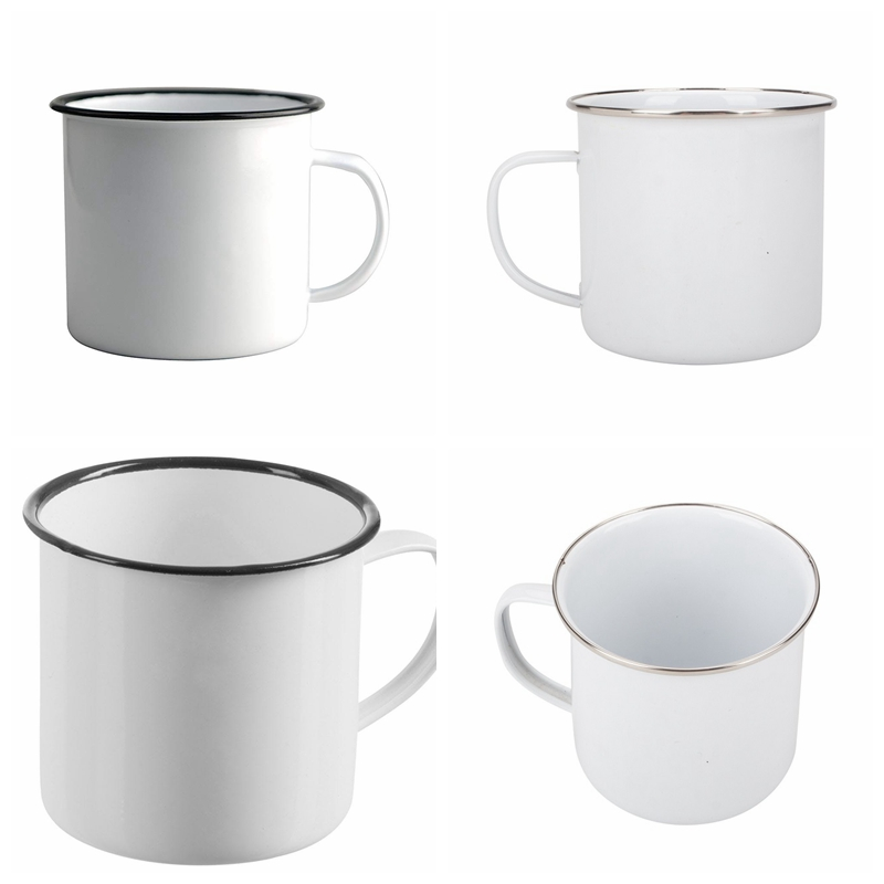Enamel Mug Cooking