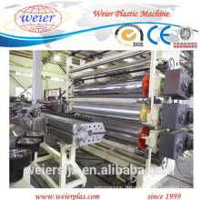 2000mm pvc impermeável piso ampla linha de produção