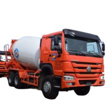 10 cubic meters 6x4 concrete mixer truck