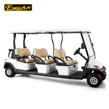 6 assentos 48V carrinho de golfe elétrico, ônibus de turismo