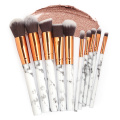 2019 Hot Popular Marble Makeup Brushes 10 PCS