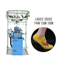 3.75 pouces automatique double usage terry et plaine chaussettes d'ordinateur machine à tricoter 6f chaussette faisant la machine prix