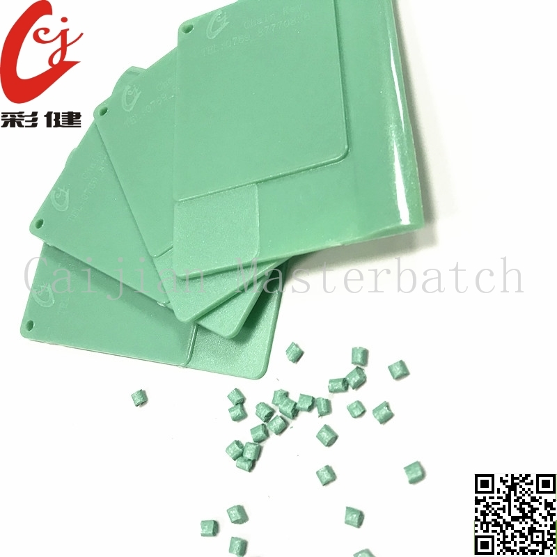Green No Spraying Masterbatch Granules