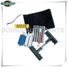 Kit de reparação de pneus para tubos sem câmara de ar