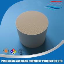 Cordierit Waben-Keramik-Monolith-Katalysator-Träger Keramik porösen Keramikfilter