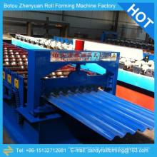Máquina de moldagem de rolo de telhado ondulado superior, produtos para máquinas de fabricação de folhas de telha ondulada