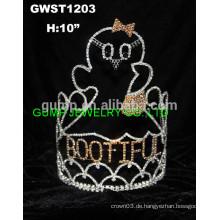 Halloween Wappen Krone Tiara
