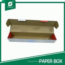 Caixa de cartão resistente feita sob encomenda da fábrica para o empacotamento do eixo