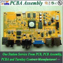 Assemblée de carte PCB avec ENIG pour des produits de sécurité OEM Clé en main Assemblée Assemblée Service bluetooth pcba fabricant