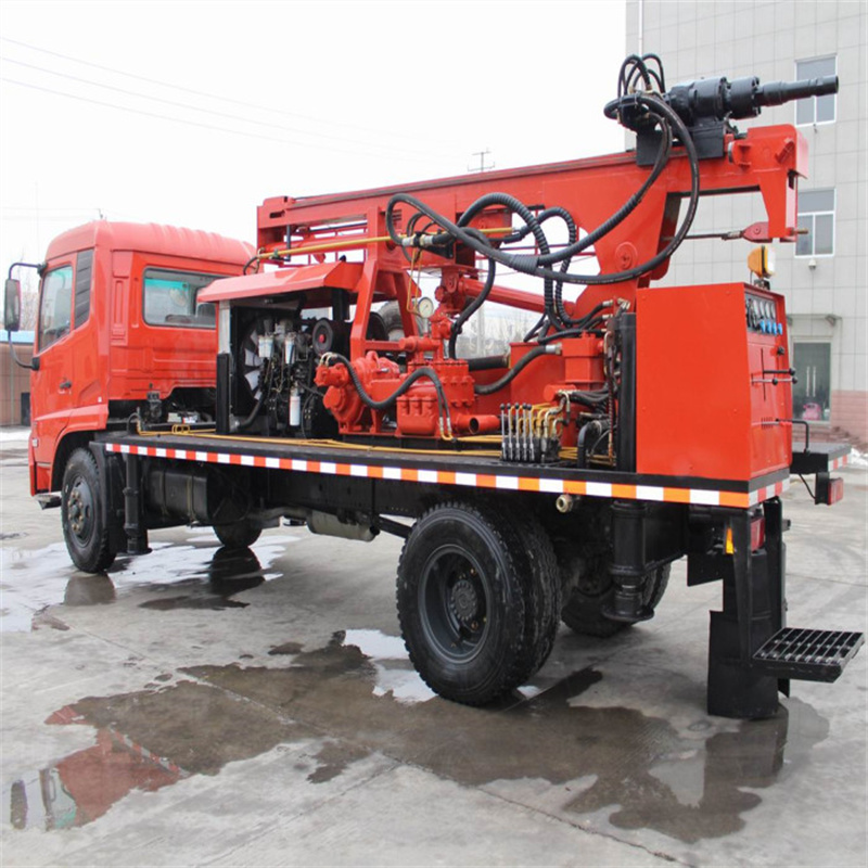 Truck Water Well Rig 7