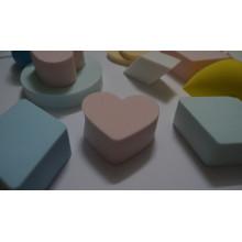 Herzform Kosmetik Make-up Schwamm für Frauen