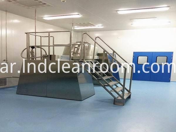 Seychelles Cleanroom for Cosmetics
