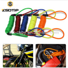 Motorcycle Scooter Alarm Disc Lock Security Anti Thief Reminder Cable Bike Motorbike Anti Thief Safety Tools 5 Color