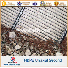 HDPE Uniaxial Geogrids for Steep Slops Reinforcement
