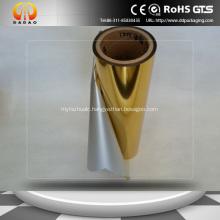 Gold Metalized Film PET Thermal Lamination Film
