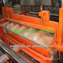 European stype long lifespan corrugated and trapezoidal pvc roof tile making machine