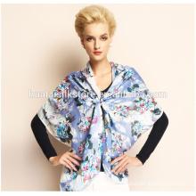 Cheap wool China printed shawl women fashion wool scarf