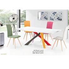 Esszimmermöbel rund drehend und Stühle