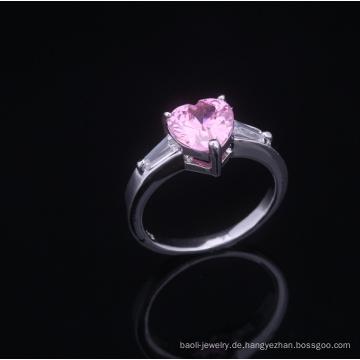 10 Jahre romantische Hochzeitstag Ringe AAA Zirkonia Ringe Rhodium überzogene Schmuck ist Ihre gute Wahl