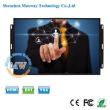 Quadro aberto da fábrica do OEM / ODM monitor da tela de toque de 17 polegadas KTV com USB psto