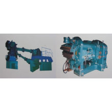 COMPOUND TIRE TREAD EXTRUDER