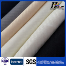 TC white and black herringbone pocketing fabric