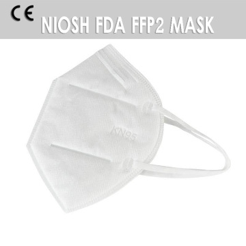 Masque facial anti-poussière pliant Earloop KN95