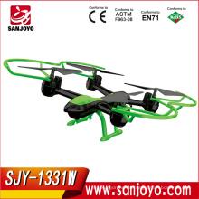 2016 venta caliente SKY HAWK 1331 juguetes Rc aviones WIFI FPV RC drone cámara HD RC Helicóptero SJY-1331W