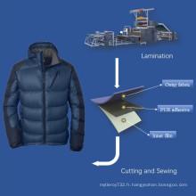 Adhésif thermofusible pour vêtements décontractés