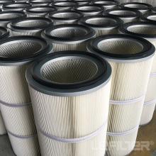 Elemento filtrante de colector de polvo industrial