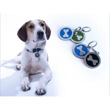 Étiquette perdue d'animal familier d'adresse de pendentif d'identification de chien