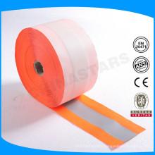 100% polyester oxford matériau réfléchissant / sangle réfléchissante