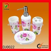 Stärken Sie keramisches Badezimmerzubehör, Badezimmerzusätze in Porzellan