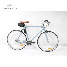 2017 Venda Quente Pedal Assist Fixie Bicicleta Elétrica