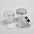 PET Plastic Jar Transparent With Plastic Lids