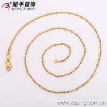 42116 Xuping moda design simples 18k colar dama de noivado
