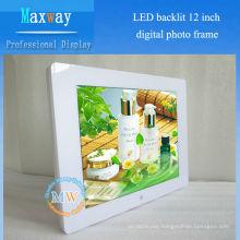 4:3 resolution 800X600 photo digital frame 12 inch