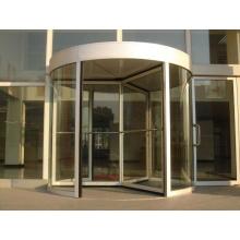 Puerta giratoria automática de tres alas