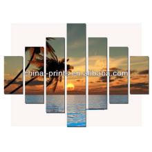 HD Arte de la pared Sunset Seaside Photos