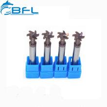 Fresas de extremo del cortador de la ranura del carburo T del CNC BFL para el acero o el aluminio
