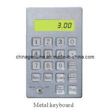 Zcheng Fuel Dispenser Computer Stainless Steel Metal Keyboard (vertical)