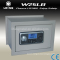 Digital hidden wall safe box for mounted on the wall