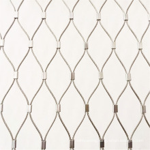 stainless steel wire rope mesh for Animal Enclosure