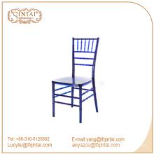 Venta al por mayor de eventos de alquiler de acrílico transparente banquete sala colorida silla