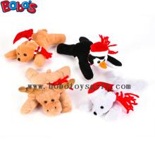 "6""Xmas Bean Bag Stuffed Animal Toy Children Christmas Gift"