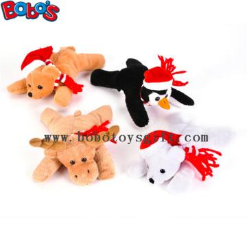 """6 """"Weihnachtsbohnen-Beutel-angefülltes Tier-Spielzeug-Kind-Weihnachtsgeschenk"""