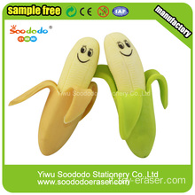 Banana wholesale toy Eraser ,Stationery product