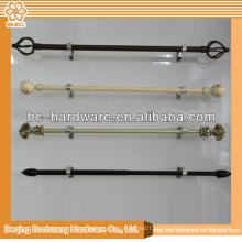 Cortina Rod de la antigüedad del metal de la alta calidad de 12m m / 16m m / 19mm / 22mm / 25mm / 35mm en la India para la venta