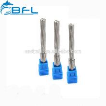 BFL Handreibahle Herstellung Vollhartmetall-Reibahlen mit TiAlN-Beschichtung