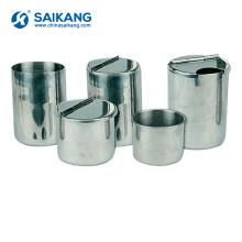 SKN032 Stainless Steel Medical CupsSterilized Bottles Equipment